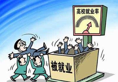 中国的大学就业率不能依赖于 被提高